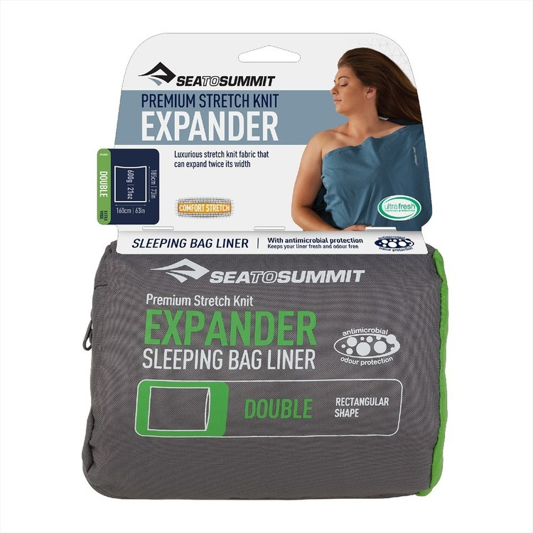 Sea to Summit Expander Double Liner Navy