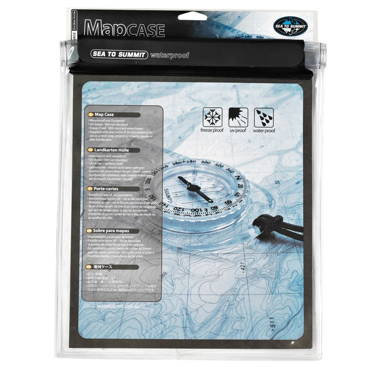 Sea to Summit Large Waterproof Map Case Large
