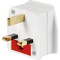 Go Travel British Adaptor White