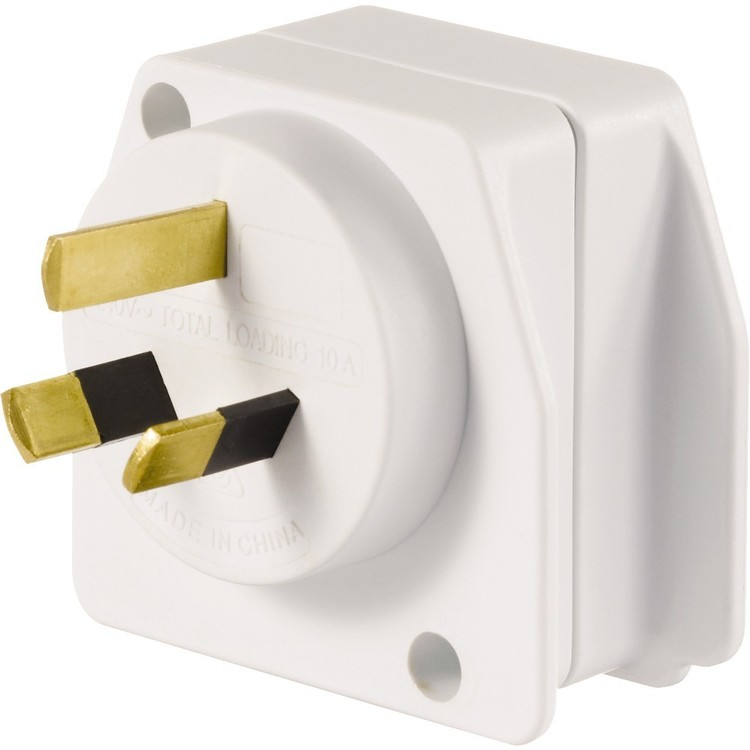 Go Travel Visitor Adaptor White