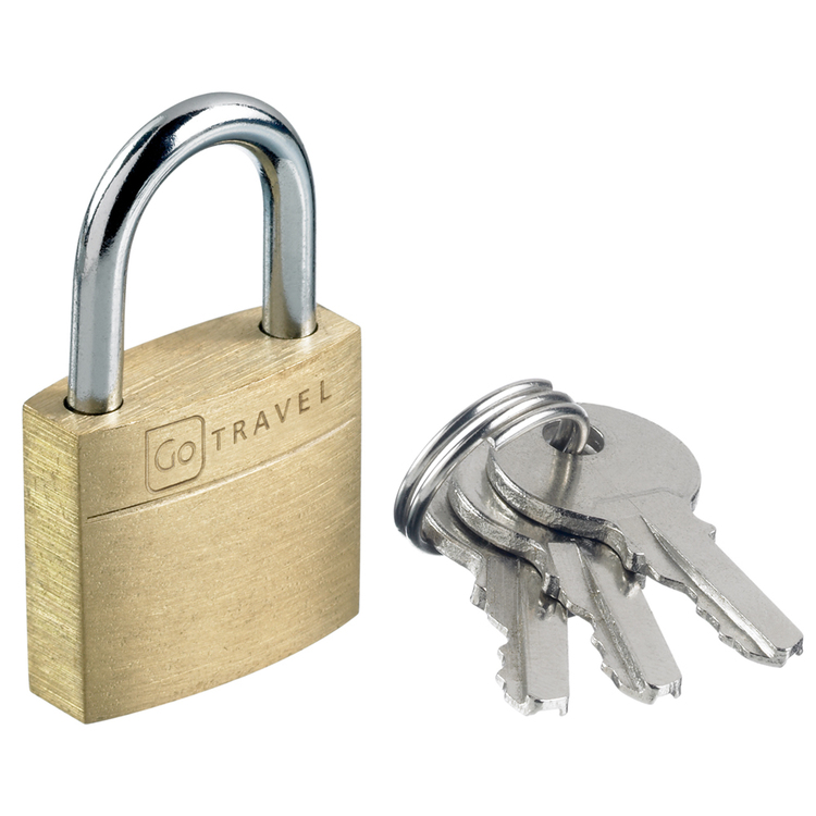 Go Travel Secure Lock 2 Pack