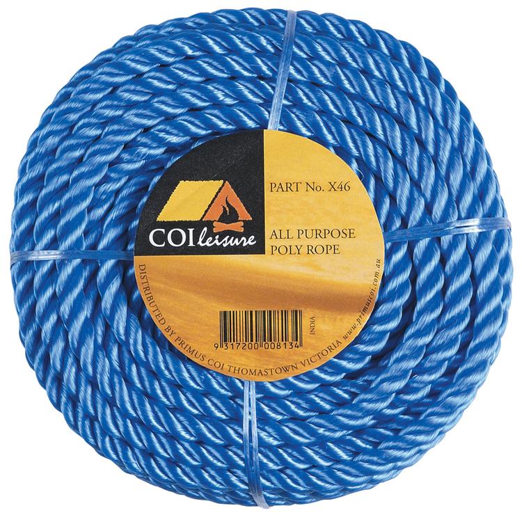 Kookaburra Poly Ropes Mini Coil 3 mm x 20 m