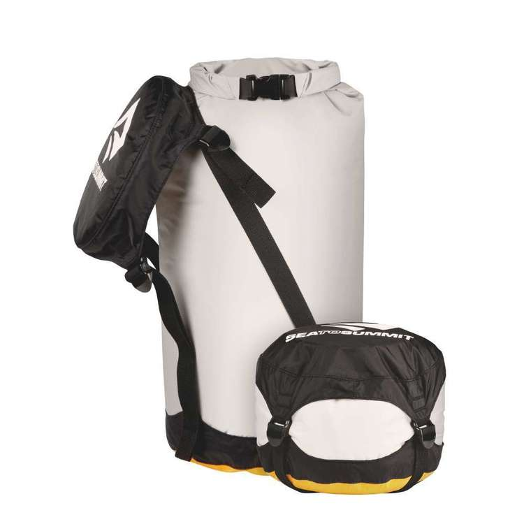 Sea to Summit Event Compression Dry Sack 14L Black, White & Orange