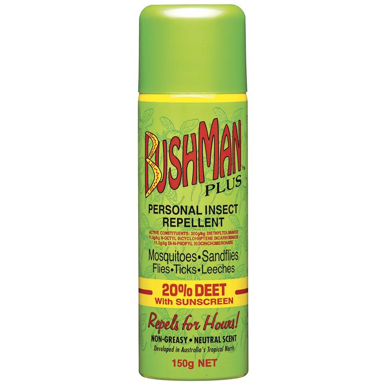 Bushmans Aerosol With Sunscreen