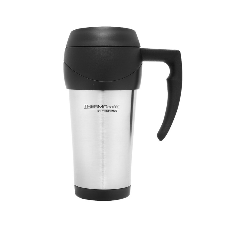 THERMOcafe™ 450ml  Stainless Steel Foam Insulated Travel Mug