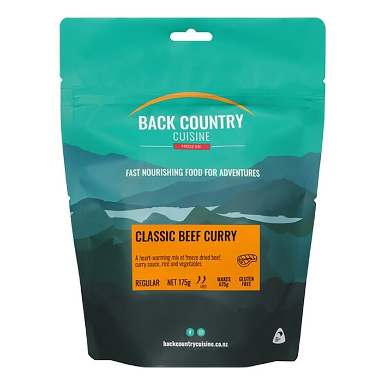 Back Country Classic Beef Curry Regular