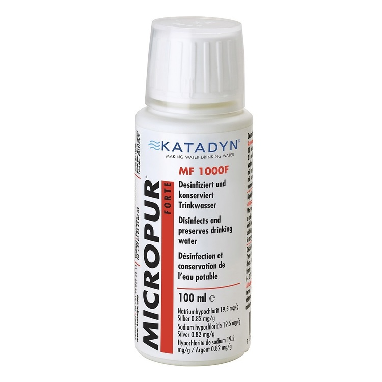 Katadyn Micropur Water Purification Liquid