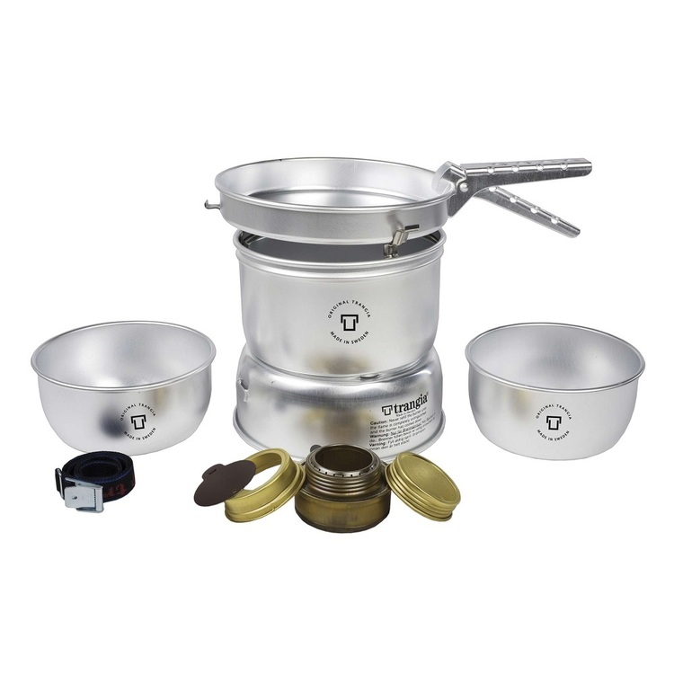 Trangia 25-1 Storm Cooker Ultra Light Silver Large