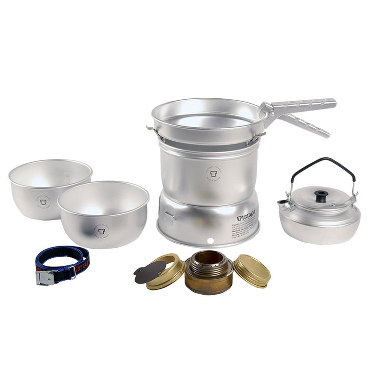 Trangia 25-2 Ultra Light with Kettle Silver Large