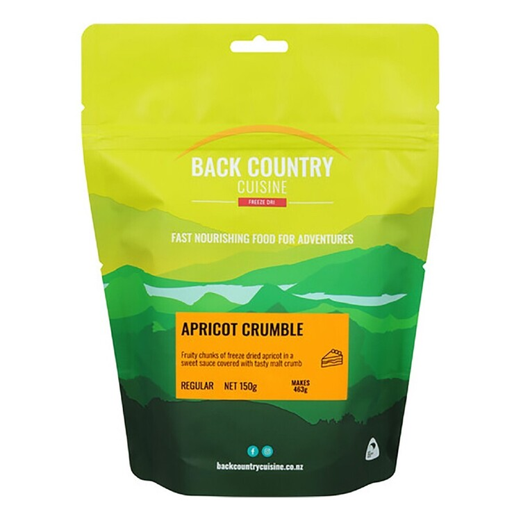 Back Country Apricot Crumble Regular