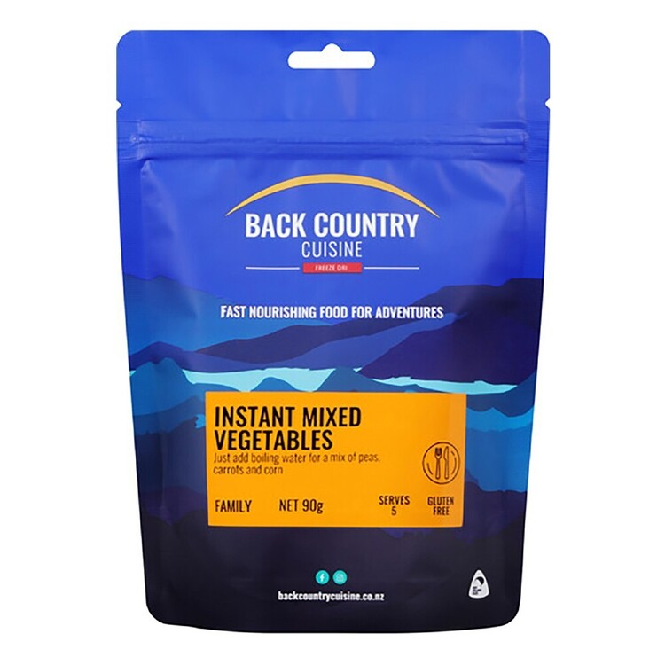 Back Country Instant Mixed Vegetables 5 Serves