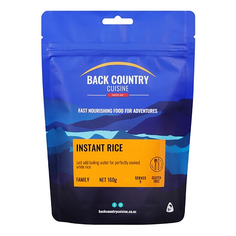 Back Country Instant Rice