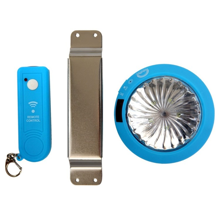 Spinifex 5 Led Tent Light With Remote Control Blue