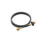 Coleman Extension Hose With Pol Fitting Black