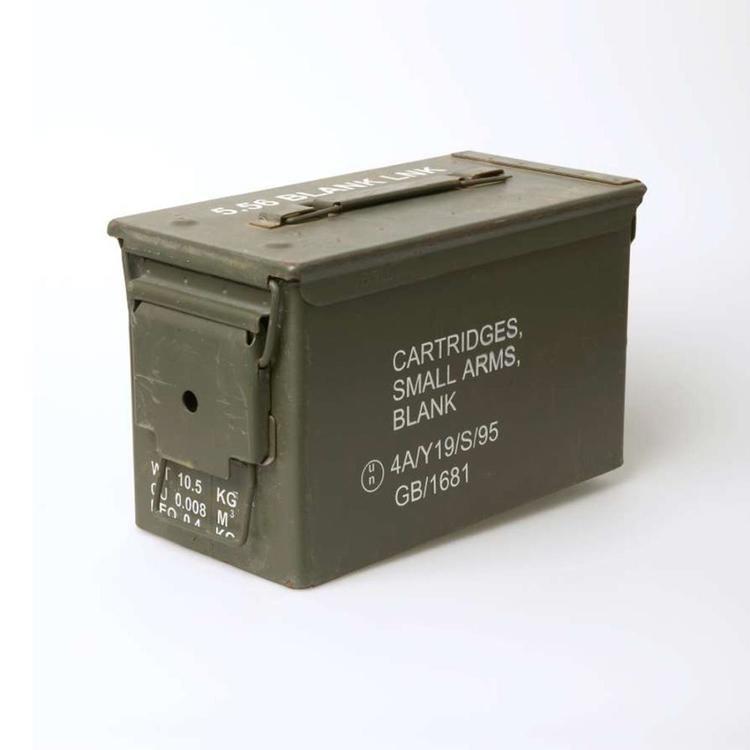 Bushtracks 50 Cal Ammo Box