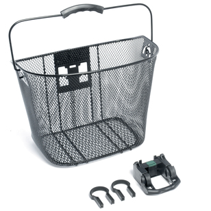 Bike Corp Front Wire Basket With Quick Release