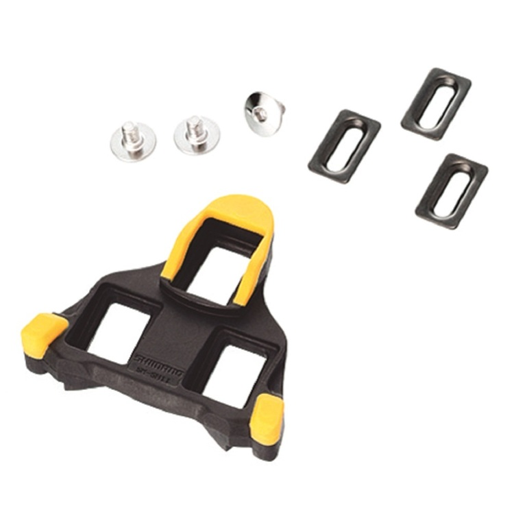Shimano SM-SH11 SPD-SL Cleat Set Black & Yellow