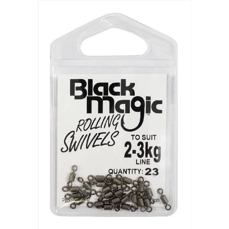 Black Magic Rolling Swivel Small Pack