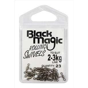 Black Magic Rolling Swivel Small Pack