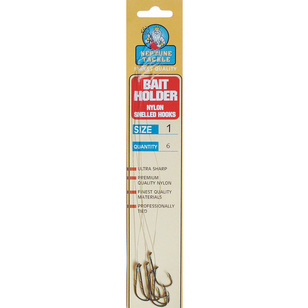 Neptune Tackle Snelled Baitholder Hooks