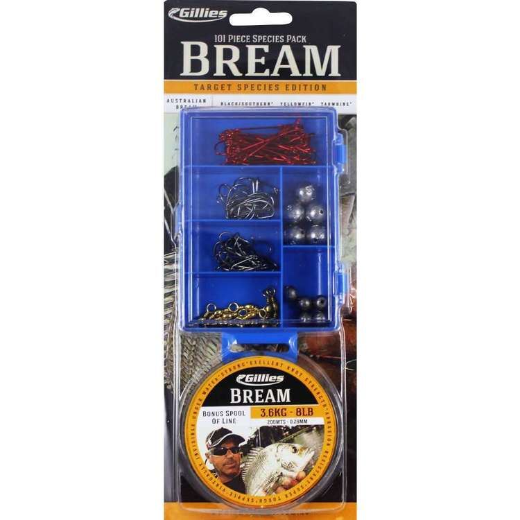 Gillies Species Pack Bream + Line