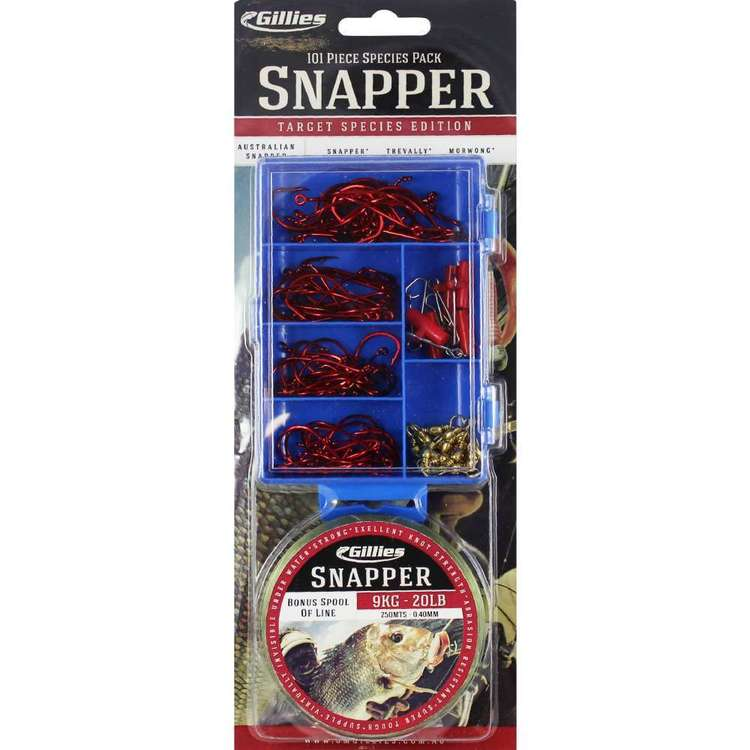 Gillies Species Pack Snapper + Line