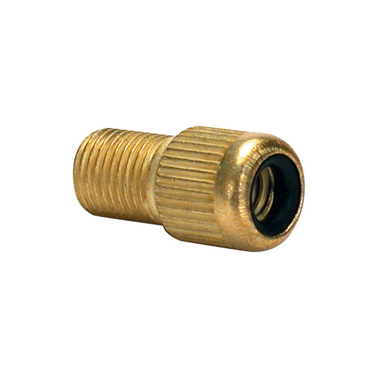 Bike Corp Adaptor For Presta Valve Gold