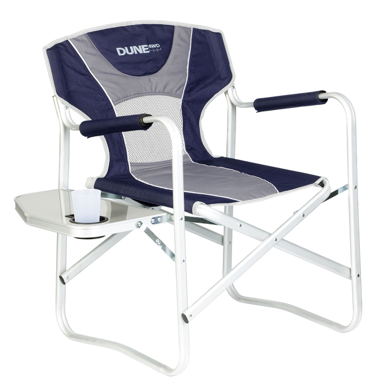Dune 4WD Directors Chair with Side Table