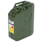 Dune 4WD 20L Green Metal Jerry Can