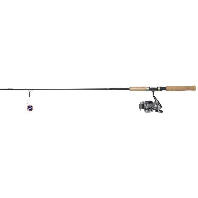 Shimano 6 Foot 6 Inch Soft Plastic Spin Combo Black 6 ft 6 in