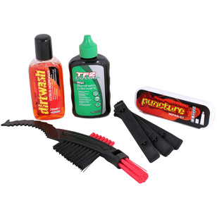 Weldtite Bike Care Kit With Dry Lube