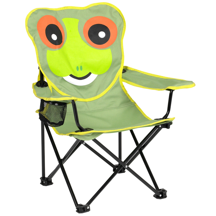Spinifex Kid's Animal Frog Chair Green