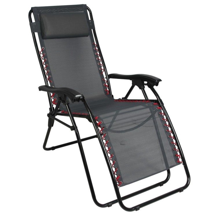 Spinifex Textaline Lounge Recliner Grey