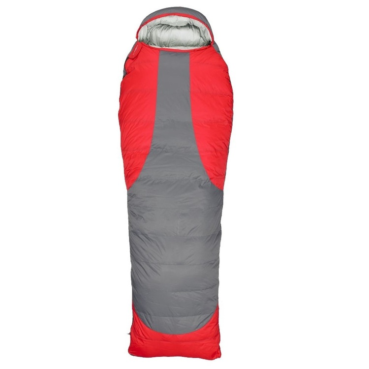 Denali Capsule 700 Down Sleeping Bag Red & Grey