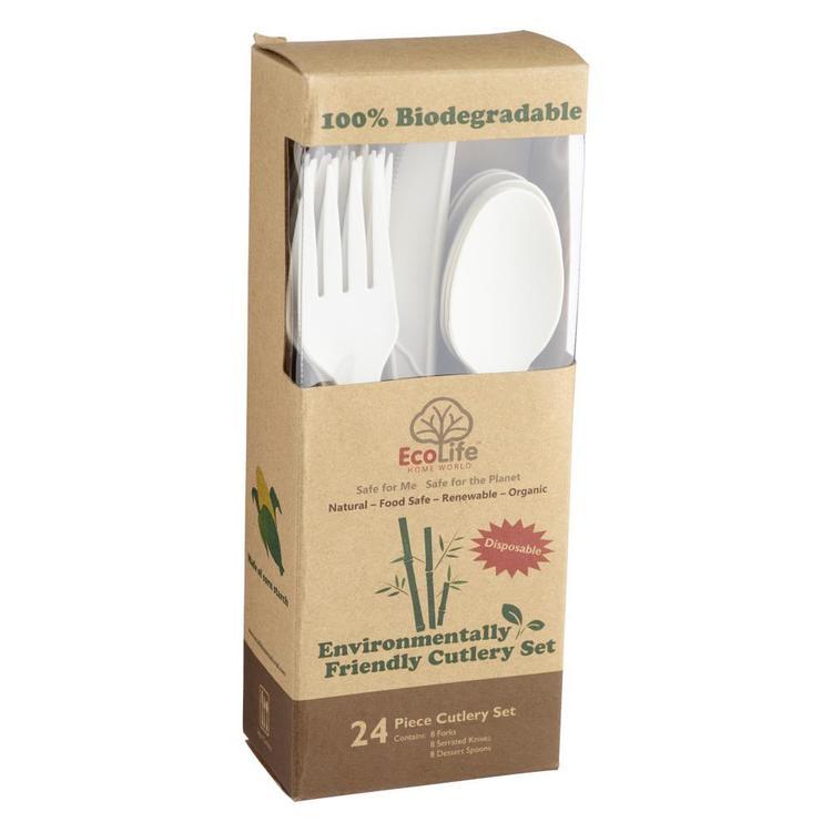 Ecolife Bio 3 Piece Cutlery Set