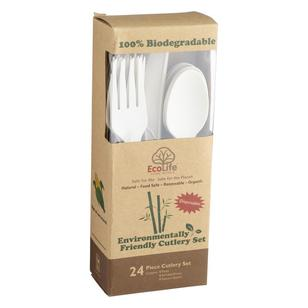 Ecolife Bio 3 Piece Cutlery Set