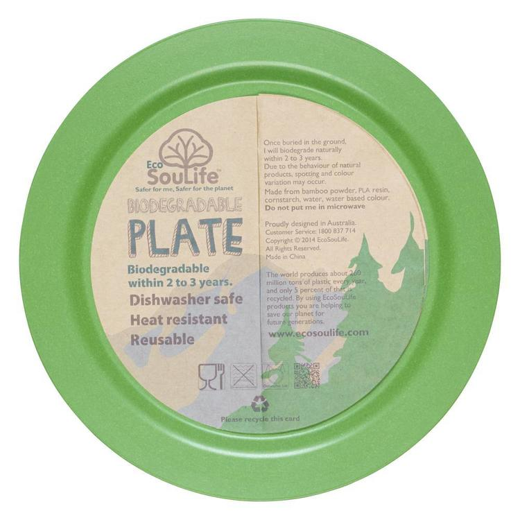 Ecolife Biodegradable Tableware Dinner Plate