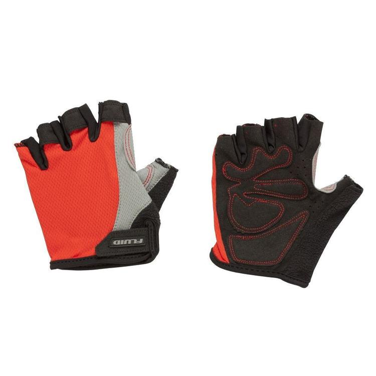 Fluid Comp Cycling Gloves Black & Red XX Large