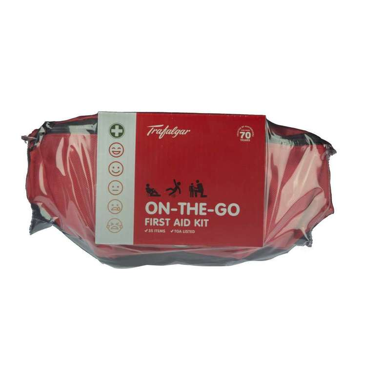 Trafalgar On The Go First Aid Kit Red