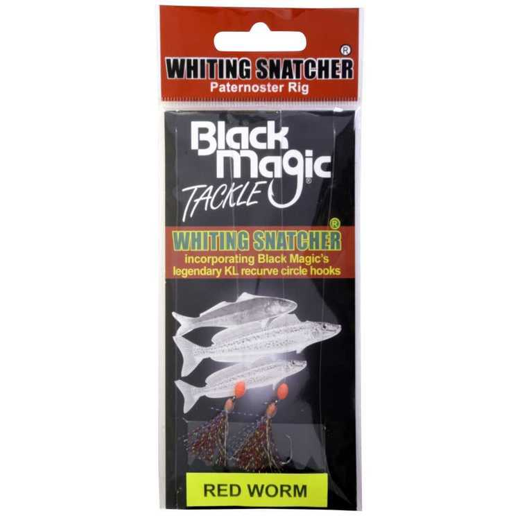 Black Magic Whiting Snatcher Rig Pack