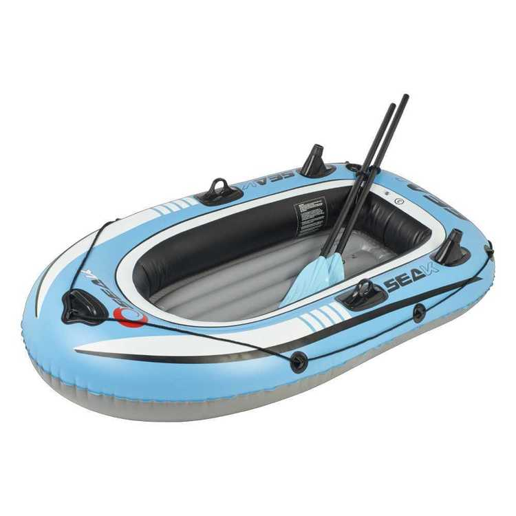 Seak 1.0 Inflatable Boat Blue 76 x 43 in