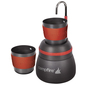 Campfire Coffee Percolator Black & Red