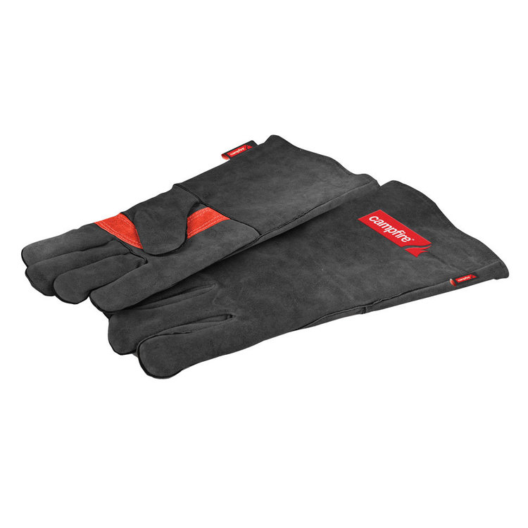 Campfire Leather Protective Gloves