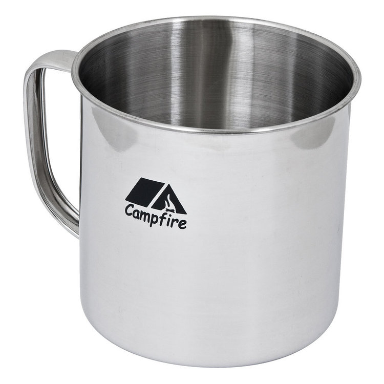 Campfire Stainless Steel 9 cm Mug