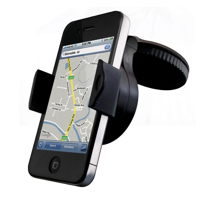 Cygnett Dashview Universal Car Phone Mount Black