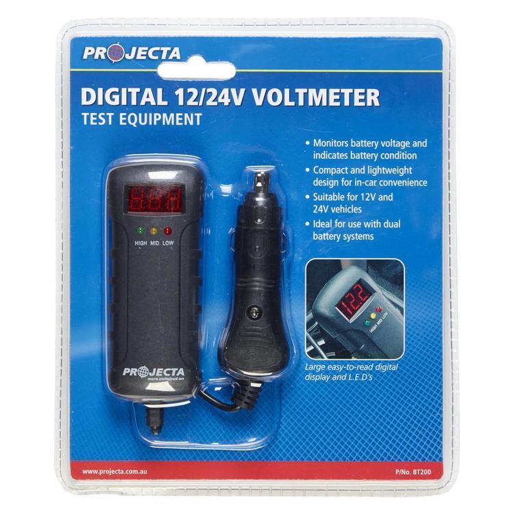 Projecta Digital 12/24V Voltmeter