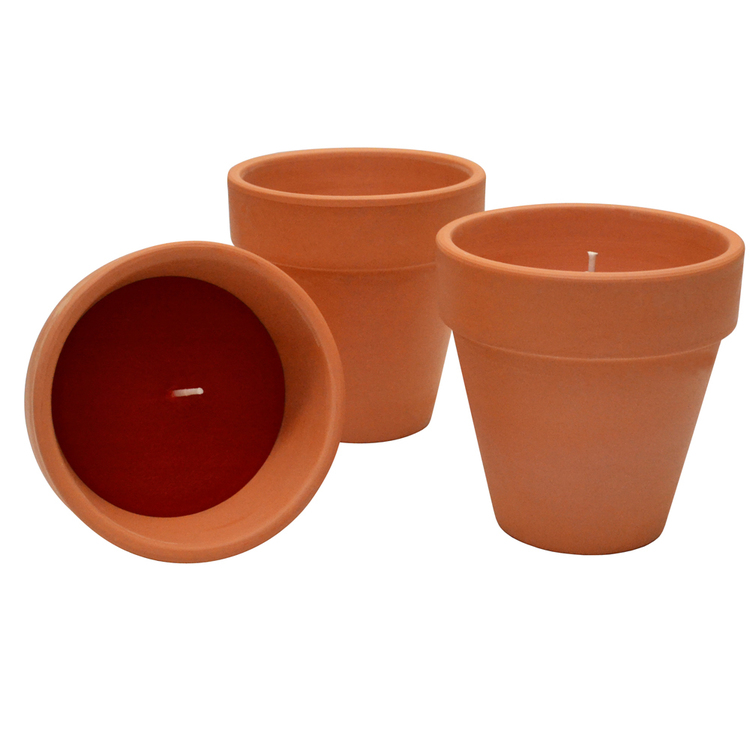 Waxworks Terracotta Pots