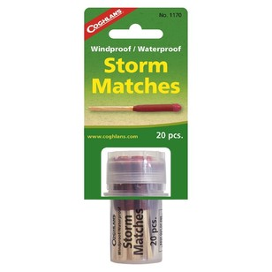 Coghlans Windproof Waterproof Storm Matches