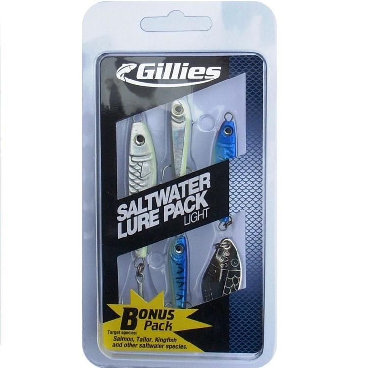 Gillies Saltwater Lure Pack