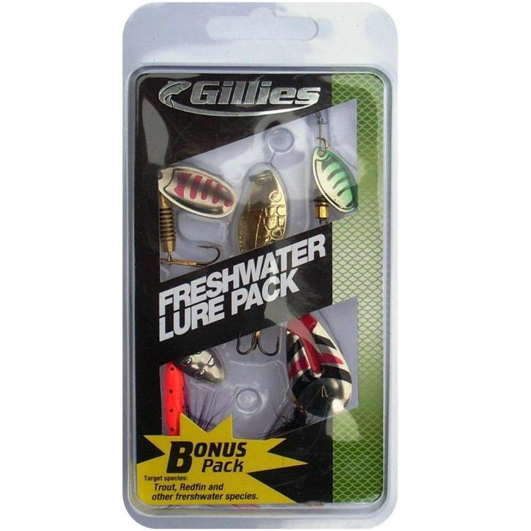 Gillies Freshwater Lure Pack Multicoloured